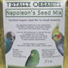 TOTALLY ORGANIC NAPOLEONS SEED bird parrot food 5lb