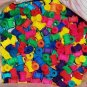 """25 5/8"""" Colored Wood Spools bird toy parts parrots cages crafts"""