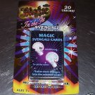20 MAGIC CARD TRICKS toys 4 kids favors game gift party