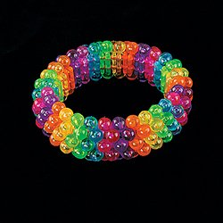 2 Multi-Color Beaded Bracelets toys gifts prizes kids