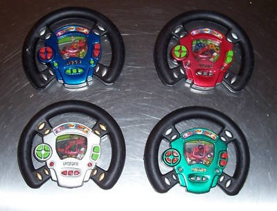 RACE CAR Wheel Water Game toys kids party favors prizes gift