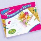 HUGE Faries & Princesses Drawing pad kids gift prize stocking stuffer art