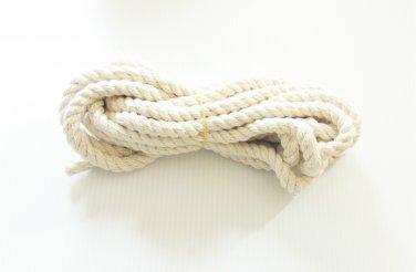"""10' 1/2"""" Supreme Cotton Rope bird toy parts parrots pet"""