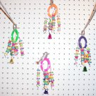 RING JINGLER bird toy parts parrots cages perch conures