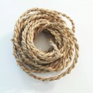 "25' 3/8"" NATURAL GRASS Rope bird toy parts parrots cage"
