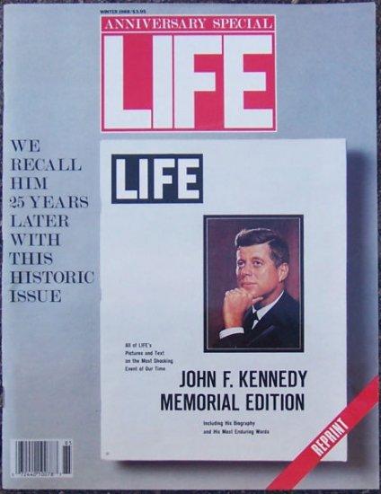 LIFE MAGAZINE Winter 1988 JOHN F. KENNEDY Memorial Edition