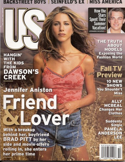 JENNIFER ANISTON, BACKSTREET BOYS, ALLY McBEAL, PAMELA ANDERSON October 1998 US Magazine #249