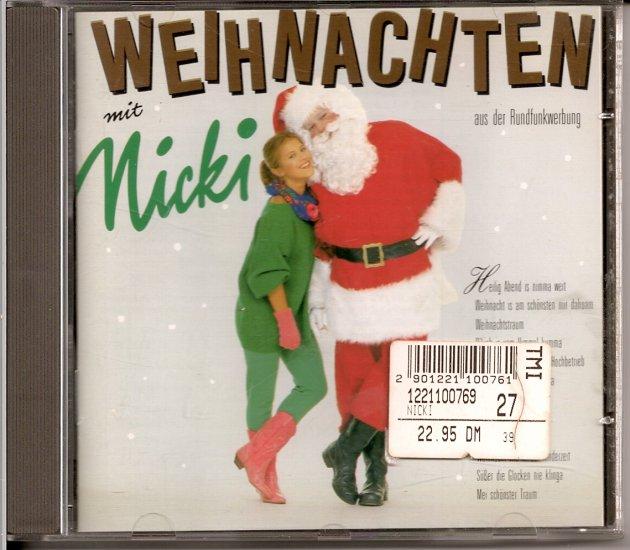 weihnachten mit nicki hrda cd german christmas music - German Christmas Music