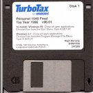 TurboTax For Windows Tax Year 1996 Personal 1040 Final