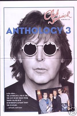 PAUL McCARTNEY CLUB SANDWICH Autumn 1996 79 BEATLES ANTHOLOGY AND IN THE END A