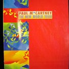PAUL McCARTNEY The New World Tour Book 1993 Stories about Paul, Linda, The Beatles