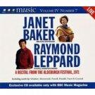 Janet Baker (Mezzo-Soprano) & Raymond Leppard Recital Live (BBC Music, Volume IV, Number 7)