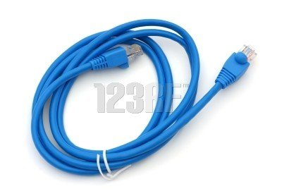 D-LINK 3 Foot Ethernet Router Patch Cable Blue E189529 Cat 5 Brand-New