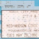 STYX Ticket Stub May 28, 1991 Mid-Hudson Civic Center Poughkeepsie, NY Concert