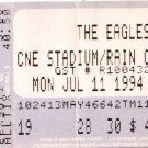 THE EAGLES Ticket Stub July 11, 1994 CNE Stadium Toronto, Canada Concert