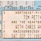 TOM PETTY / CHRIS WHITLEY Ticket Stub September 21, 1991 Knickerbocker Arena Albany, NY Concert