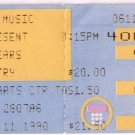 TEARS FOR FEARS Ticket Stub June 11, 1990 SPAC Saratoga Performing Arts Center Concert