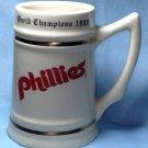 Original 1980 PHILADELPHIA PHILLES World Series Championship Mug Beer Stein RARE ORIGINAL!