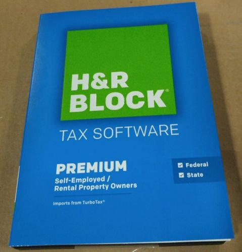 H&R Block 2015 Premium + State Tax Software - 4 Free E-Files - Step-by-step Q&A - Used