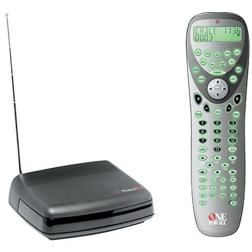 One For All URC 9910 Premium Learning Line 8-Device IR/RF Upgradeable Universal Remote Control
