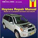 Haynes Repair Manual Toyota RAV4 1996 Thru 2005: All Models - Used