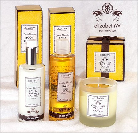 Spa Collection in Citrus Vervain by elizabeth w
