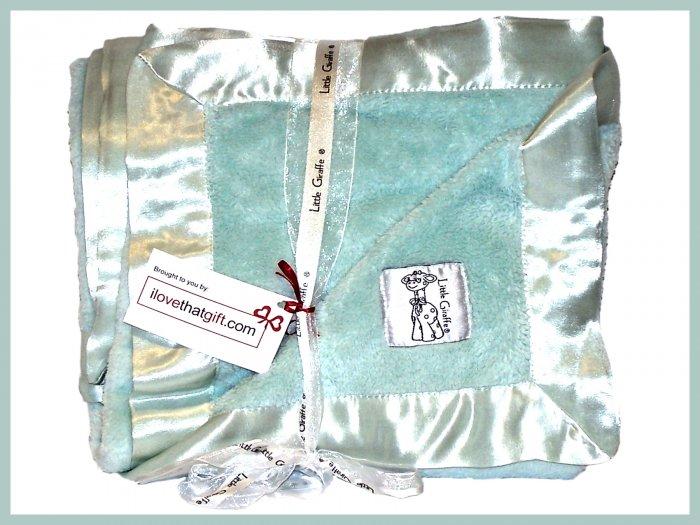 "SAGE NWT Little Giraffe Chenille Adult Throw XL Blanket SOFT 88"" x 59"""