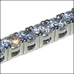 NWT Crislu Tennis Bracelet Round Cut 10.00cttw 2422B