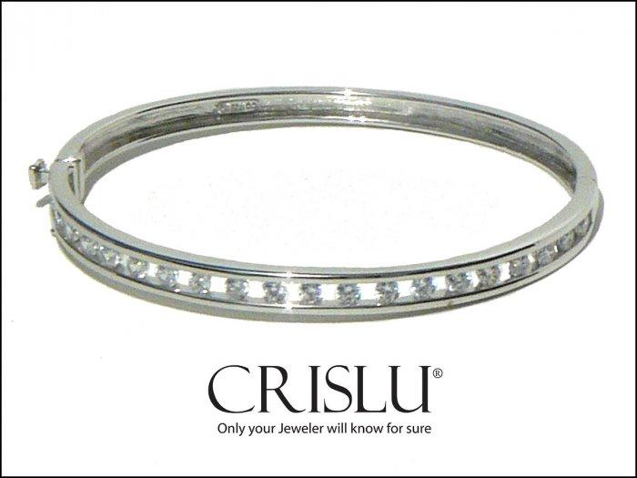 NWT Crislu Bangle Bracelet with Free Floating Stones 9127