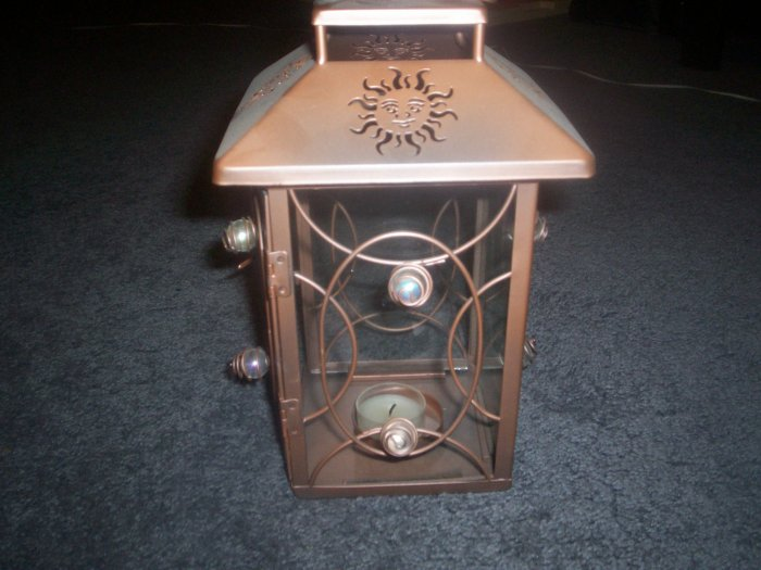 Hanging Garden Tealight or Votive Lantern Retired by Partylite