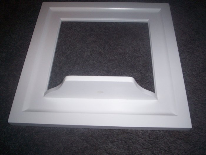 White Shelf Frame