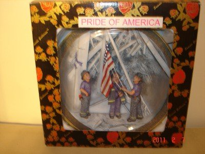 Pride Of America Commerative Plate 9/11 by Suanti Galleries