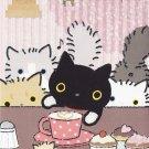 San-X Japan Cat Cafe Memo Pad #2 kutusitanyanko