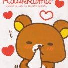 San-X Japan Rilakkuma Valentine Memo Pad