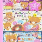 Crux Japan Kuma Cafe Time Money Memo Pad kawaii