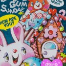 Q-Lia Japan Bubble Gum Sundae Memo Pad kawaii