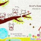 Mind Wave Bear's Honey Life Memo Pad kawaii