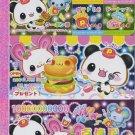 Kamio Japan Panda Animal Foods Memo Pad