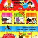 Kamio Japan Wonderful Friends Memo Pad #3