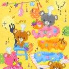 Kamio Japan Bear's World Memo Pad