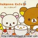 San-X Japan Rilakkuma Cafe Memo Pad kawaii