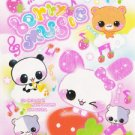 Q-lia Japan Berry Music Mini Memo Pad