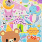 Q-lia Japan Bears Circus Mini Memo Pad