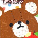 Q-Lia Japan Milk Choco Mini Memo Pad