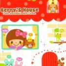 Q-Lia Japan Berry's House Mini Memo Pad