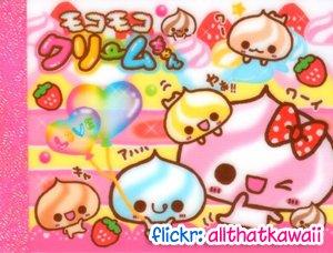 Kamio Japan Birthday Cake Mini Memo Pad