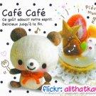 Kamio Japan Cafe Cafe Mini Memo Pad #1