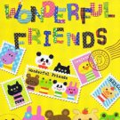 Kamio Japan Wonderful Friends Mini Memo Pad #1 (yellow)