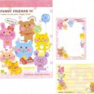 Kamio Japan Funny Friends Mini Memo Pad