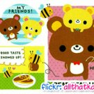 Kamio Japan Bear Bear Life Mini Memo Pad